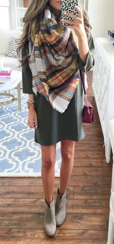 Stitch fix- would love a dress like this and booties for event in November :)