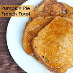 Hey friends! Here is my 20 minute meal idea which is perfect for breakfast or brunch tomorrow. Get the recipe for Pumpkin Pie French Toast on my blog. Here is the link or click my profile http://www.5dollardinners.com/pumpkin-pie-french-toast/