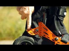 Skorpion Skates with the Roller Cycle - YouTube
