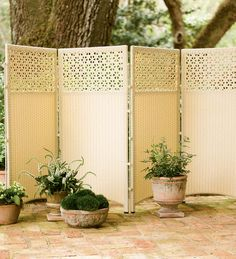 Weatherproof Wicker Privacy Screen