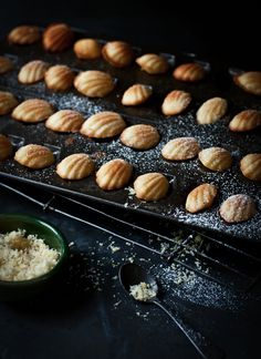 I love Madeleines; if only my teeny tiny kitchen did not make baking so very difficult!