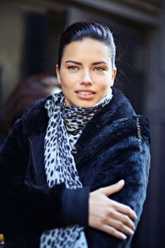 "Adriana Lima after Jason Wu #nyfw. Altogether now ""congratulations on your face!"""
