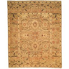 Oushak Legacy Hand-knotted Camel Wool Rug (6' x 9') ~ $759.99