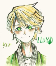 This is one of the cutest pictures of Lloyd I have ever seen!