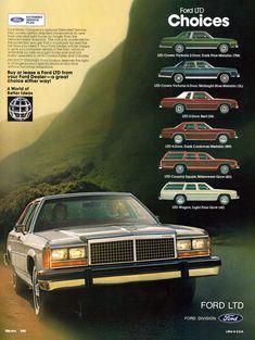 1981 Ford LTD Crown Victoria range