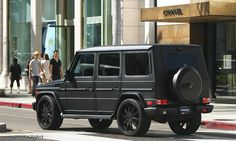 "Mercedes-Benz G550 Matte Black on 24"" Agetro F100 wheels  sweet...."