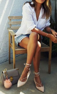 cool Easy summer style... by http://www.globalfashionista.xyz/fashion-poses/easy-summer-style/