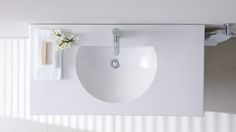 """Bathroom brand Duravit has evolved its classic collection but at the same time, has held fast to its motto – """"lots of design for little money. Duravit, Classic Collection, Bathtub, Bathroom, Designers, Standing Bath, Washroom, Bathtubs, Bath Tube"""