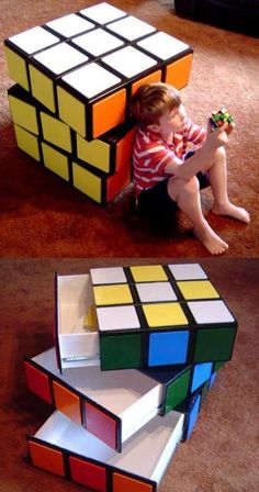 Wow!Believe it or not, you too can make this incredible Rubiks cube drawer set.Click here for instructions!(Good Luck!)