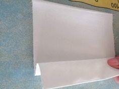Vytvoríme prvý záhyb Fabric Scraps, Plastic Cutting Board, Craft, Fabric Remnants