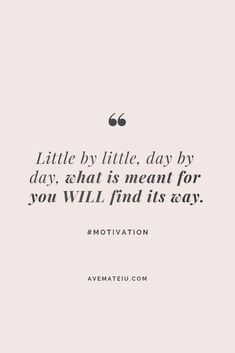 Motivational Quote Of The Day - January 9, 2019 - Ave Mateiu