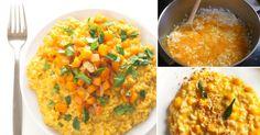 Cremoso risotto de calabaza