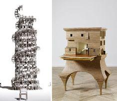 Art & Architecture: 3 Beautiful Dream-Like Building Models
