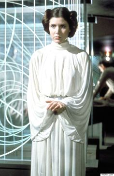 Star Wars 7': Carrie Fisher Reveals Princess Leia's Iconic Buns ...