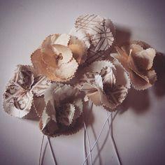 #Handmade beauty in these #Fortuny Flowers from @bvizdesign #Fabric #Design #InteriorDesign #Flowers #Home #HomeDecor
