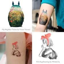 studi ghibli tattoo