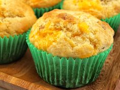 Spicy Bacon Cheddar Muffins | Recipe | Cheddar, Muffins and Spicy