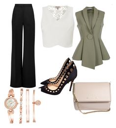 """Untitled #7"" by x-anna-a on Polyvore featuring Roksanda, Lipsy, Givenchy, Gianvito Rossi and Anne Klein"