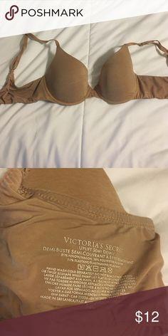 Victoria's Secret bra semi Demi nude lined bra Victoria's Secret Intimates & Sleepwear Bras