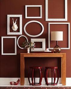 wall-decor-frames1 оформление стен