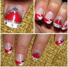 Christmas Nail Art 16