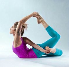 Yoga With enough practice, maybe one say I'll be able to do this pose...
