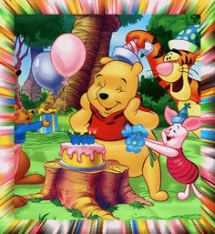 disney birthday graphics | winnie the pooh Pictures, Photos & Images