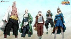 5 kage united in battle