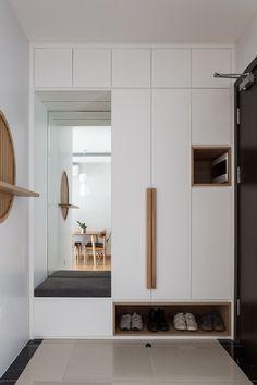 Shoe Cabinet Design, Cupboard Design, Home Room Design, Home Interior Design, Living Room Designs, Wardrobe Door Designs, Wardrobe Design Bedroom, Hall Wardrobe, Home Entrance Decor