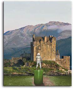 Castle by Scott Listfield Oil on canvas
