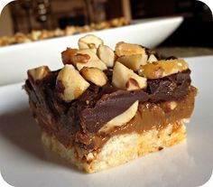 Snickery Square Adapted from Baking: From My Home to Yours  - Jess@   Life's Simple Measures