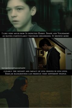 Another truth out of the depths of Harry Potter