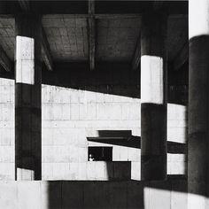 Lucien Hervé, Le Corbusier, Façade of the Secretariat Building, Chandigarh, 1961