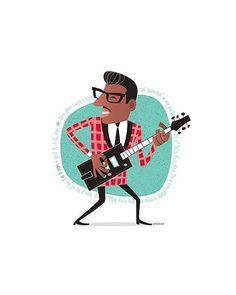 Mira este artículo en mi tienda de Etsy: https://www.etsy.com/es/listing/398269529/bo-diddley-50s-rock-roll-instant-digital