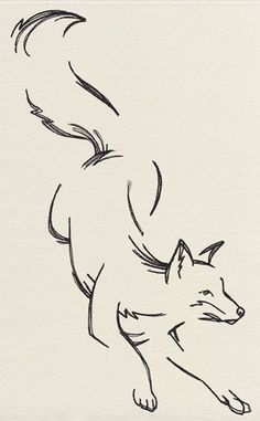 Tattoo Sketches 772859986034531501 - unique Tattoo Trends – The Menagerie – Lunging Fox Drawing, Drawing Sketches, Painting & Drawing, Tatoo Art, Tattoo Drawings, Art Drawings, Tattoo Owl, Deer Tattoo, Raven Tattoo