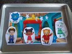 inexpensive homemade gifts for preschoolers. Love the Daniel Tiger's Neighborhood inspiration! :)