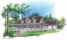 Eplans Farmhouse House Plan - Enjoyment of the Outdoors - 2178 Square Feet and 3 Bedrooms from Eplans - House Plan Code HWEPL07279
