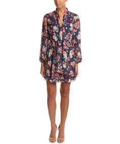 HAUTE HIPPIE Haute Hippie Free Love Silk A-Line Dress'. #hautehippie #cloth #casual