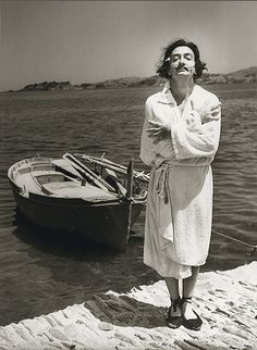 Dalí photographed by Jean Dieuzaide, 1953
