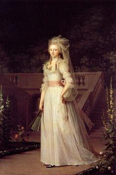 Princesa Louise Auguste por Jens Juel (1787)