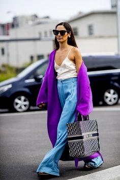 Attendees at Milan Fashion Week Spring 2020 - Street Fashion