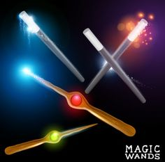 Shiny colored magic wands vector background 01 free Free Vector Backgrounds, Vector Free, Magic Wands, Color, Colour, Fairy Wands, Wizard Wand, Colors