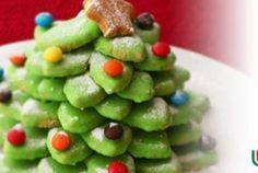 Árvore de natal de biscoitos| Gastronomia e Receitas - Yahoo Mulher
