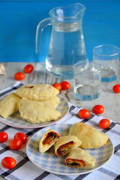 Passions, hobbies, life: Mini calzone ze szpinakiem, szynką i mozzarellą