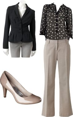 """""""Interview Outfit?"""" by kouellette on Polyvore"""