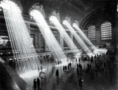 Grand Central Station NYC, 1929 by Hal Morey
