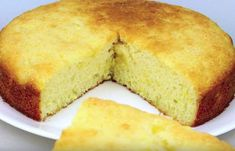 You can make this summery and airy pineapple cake with only 3 ingredients! Best Pastry Recipe, Pastry Recipes, Baking Recipes, Cake Recipes, Pie Cake, No Bake Cake, No Bake Desserts, Just Desserts, Different Cakes