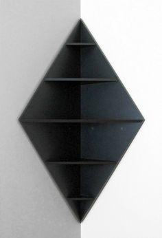 modèle au design créatif de l'étagère d'angle                                                                                                                                                                                 Plus