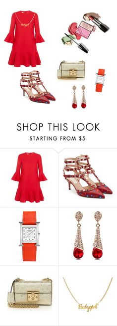 """""""Untitled #19"""" by doanthanhtra ❤ liked on Polyvore featuring Valentino, Hermès and Gucci"""