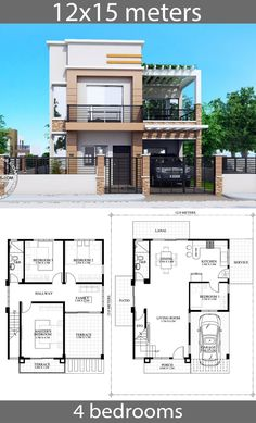 2bhk House Plan, House Plans Mansion, Model House Plan, Duplex House Plans, House Layout Plans, Family House Plans, Dream House Plans, House Layouts, Two Story House Design